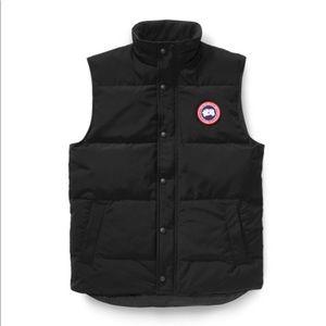 Canada Goose Down Vest Men's Small or Laddies M-L